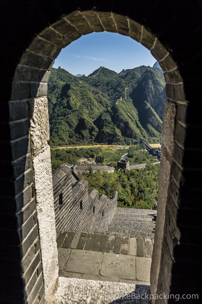 Huangyaguan Section Great Wall Of China