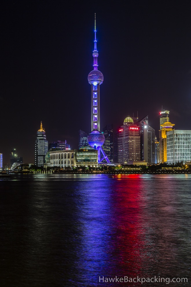 Moving To Mexico >> Shanghai at Night - HawkeBackpacking.com