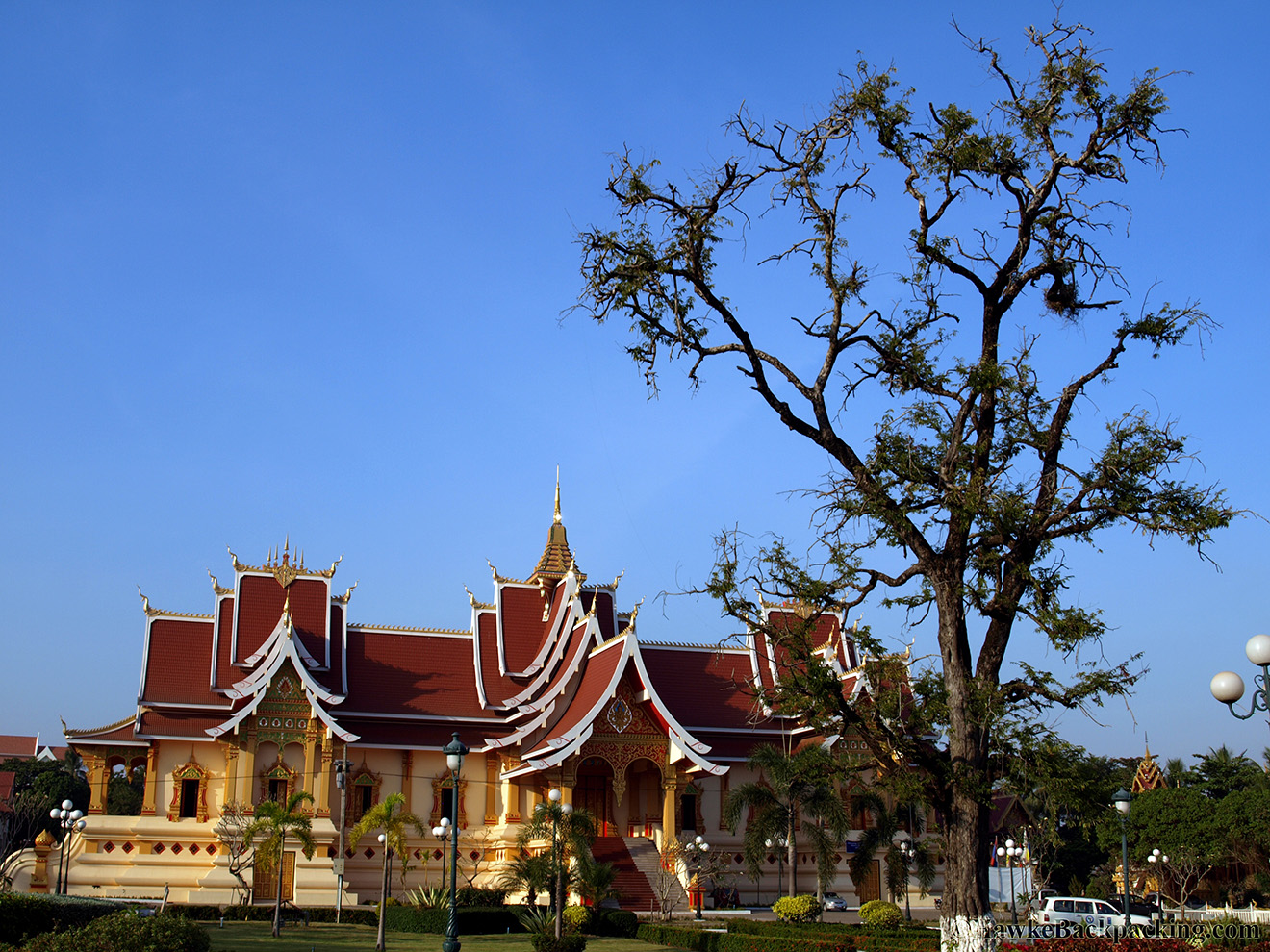 Vientiane Laos  City new picture : What you see now was restored in the 1930s by the French. Wat That ...