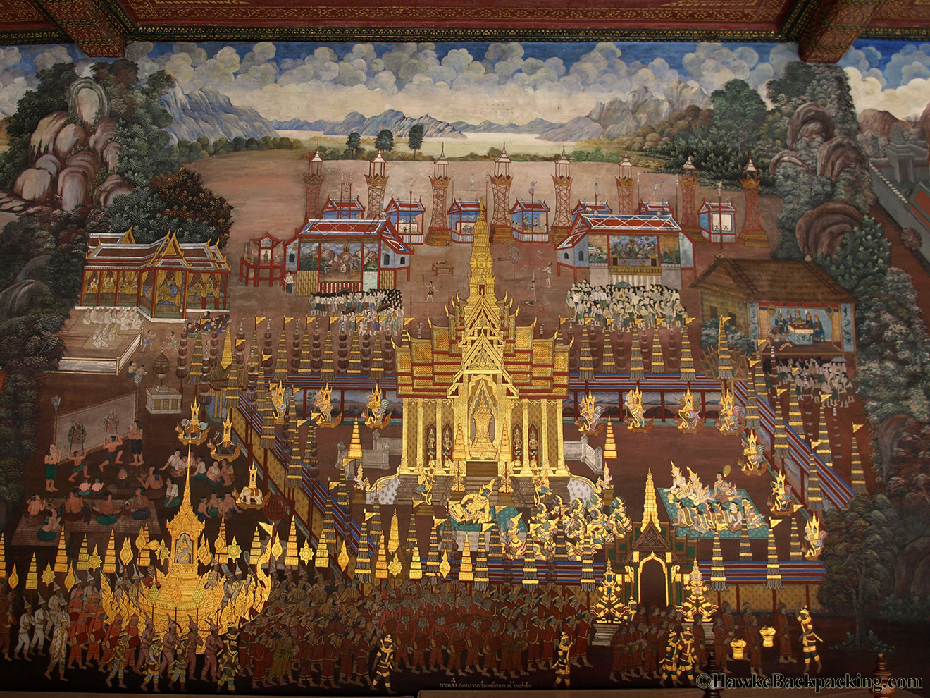 The Ramakien At Wat Phra Kaew Hawkebackpacking Com