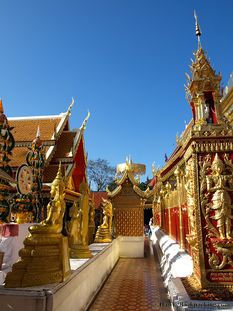 Wat Phrathat Doi Suthep - HawkeBackpacking.com