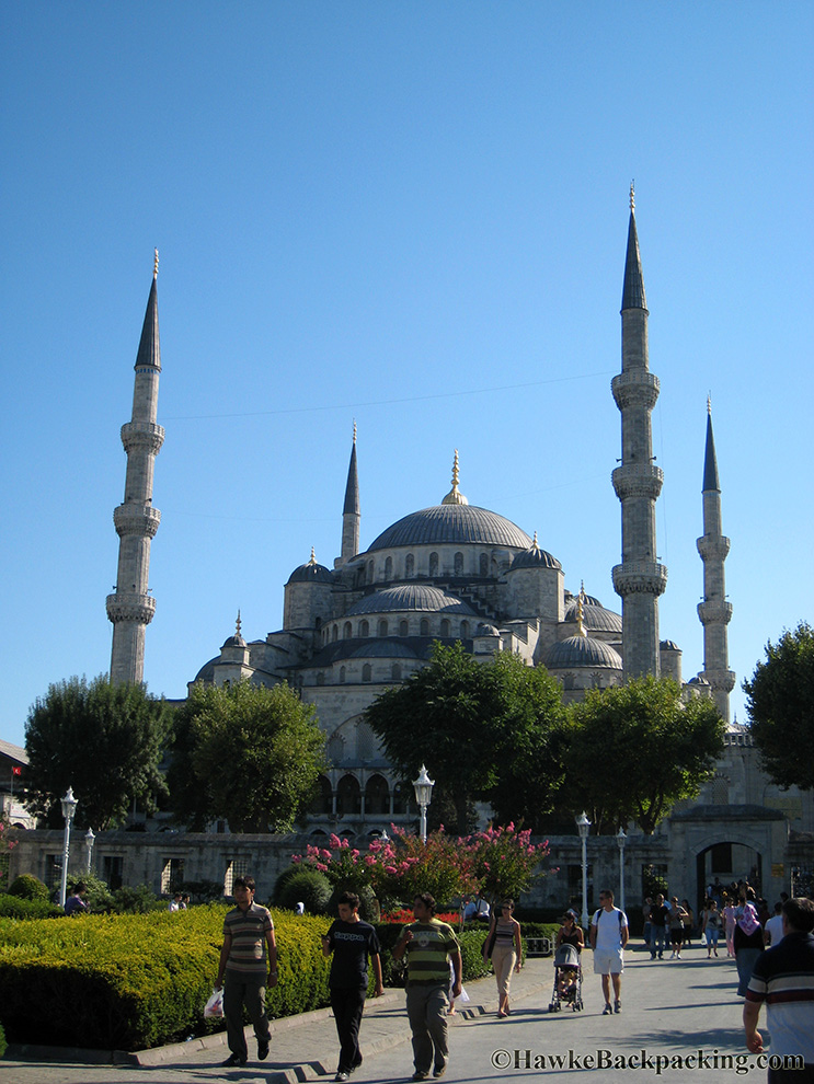 The blue mosque for Blue istanbul hotel taksim