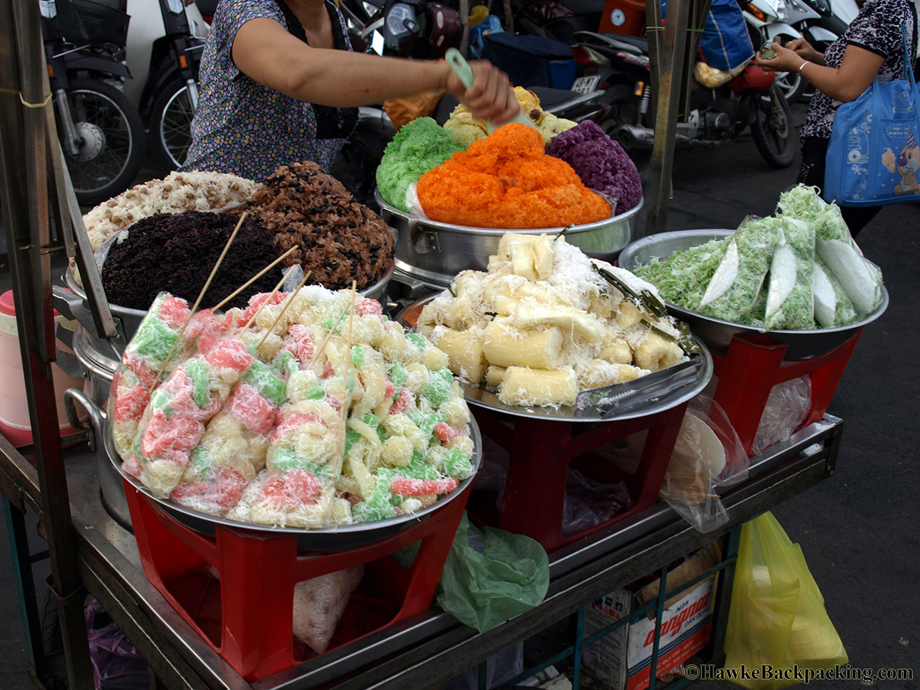 street food quality in ho chi Saigon is home to a number of street food eateries that span generations, from a  100-year old vegetarian joint to a 70-year-old hủ tiếu mỹ tho restaurant right in.
