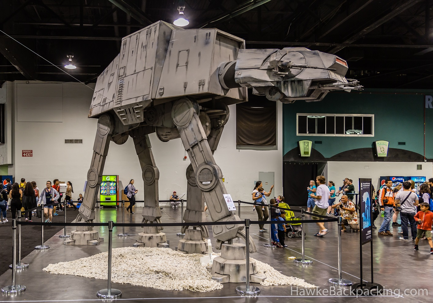 Star wars exhibit california pictures to pin on pinterest for Star wars museum california
