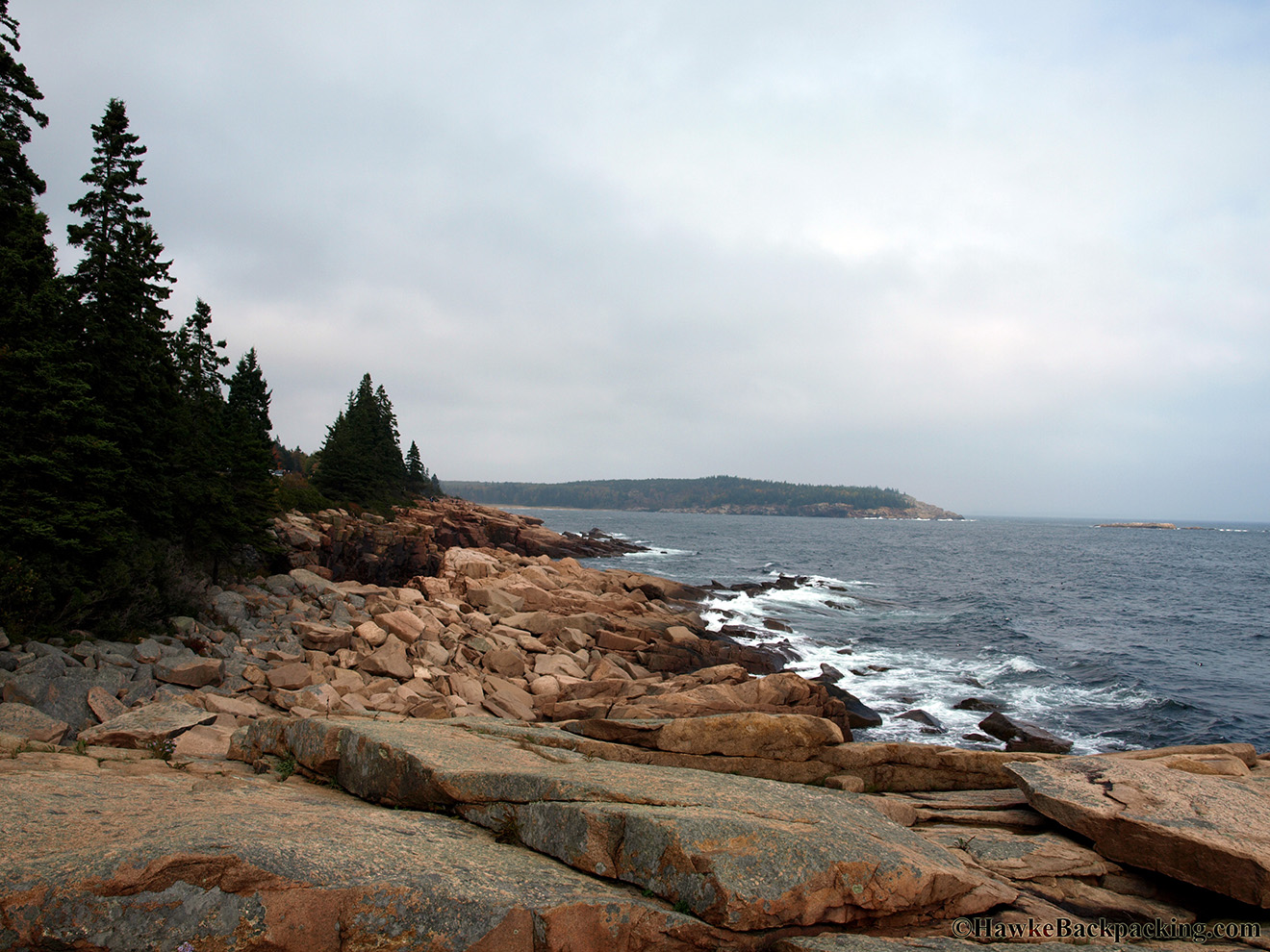 City Of Lafayette >> Acadia National Park - HawkeBackpacking.com