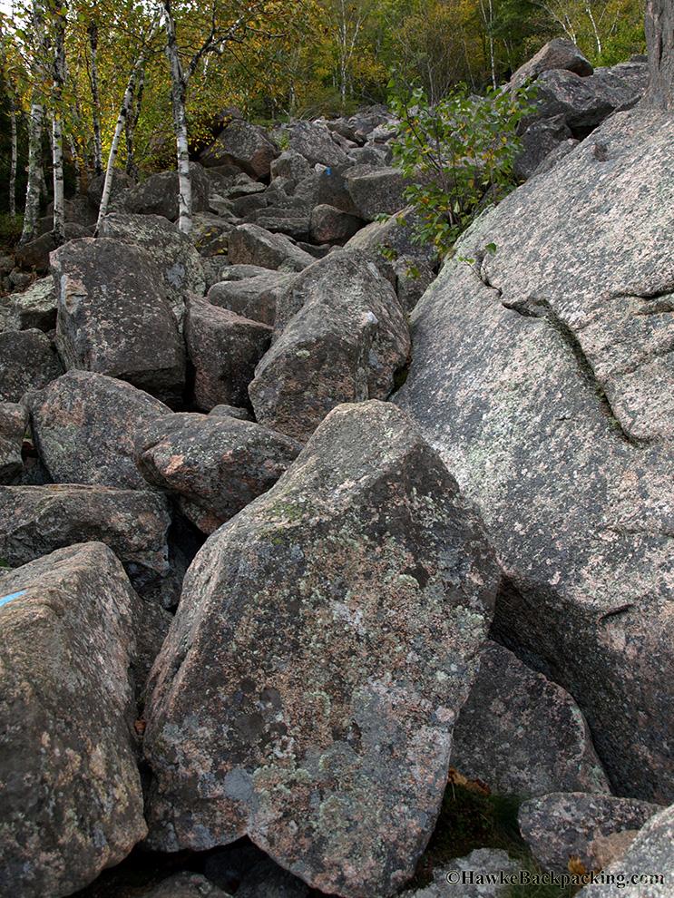 Precipice Trail Acadia National Park Hawkebackpacking Com