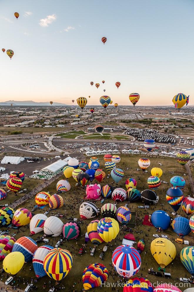 Hot Air Balloon Flight, Albuquerque International Balloon ...