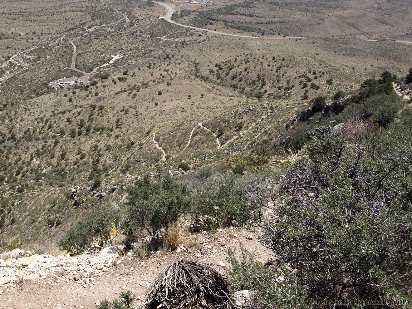 Guadalupe Peak Trail Hawkebackpacking Com