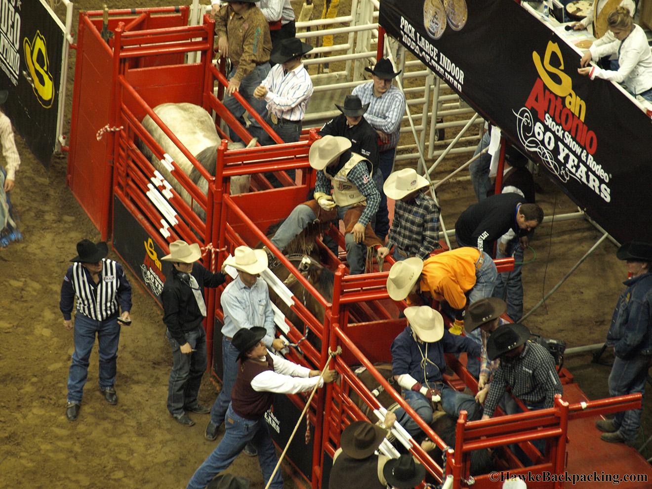 San Antonio Rodeo Hawkebackpacking Com