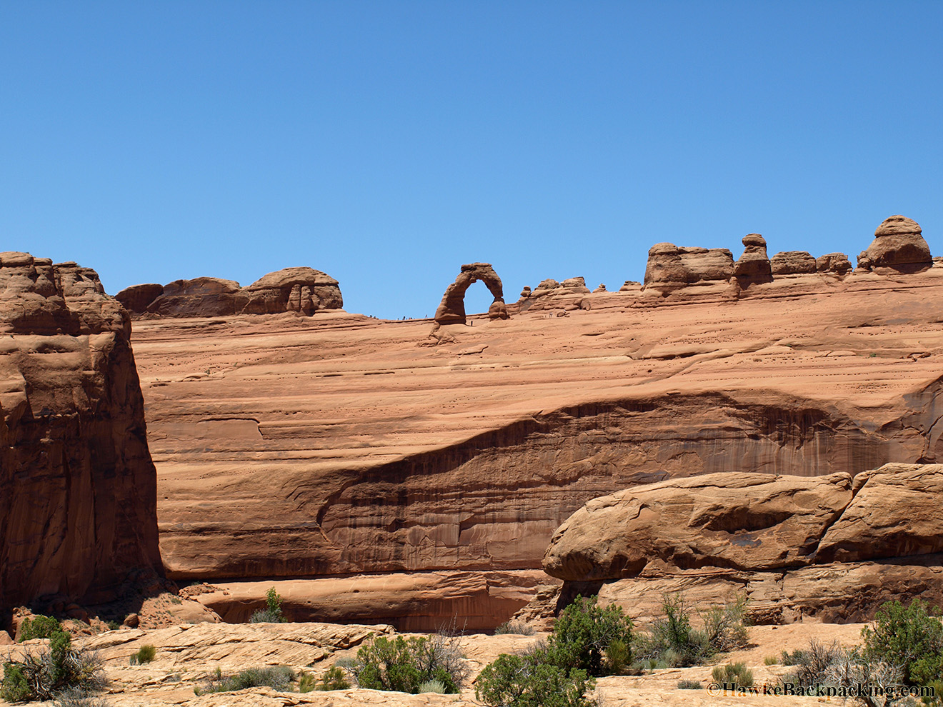 Arches National Park Hawkebackpacking Com