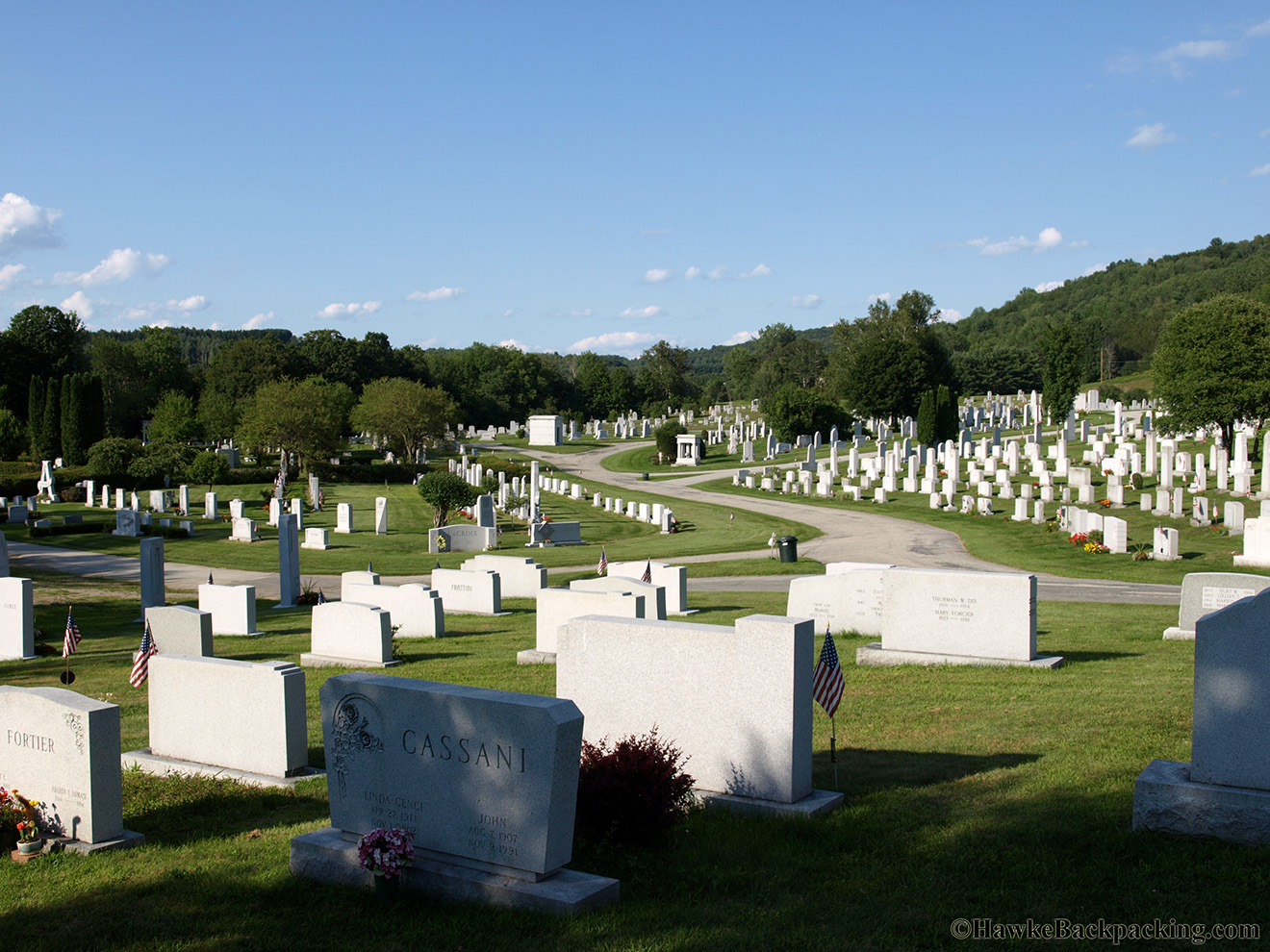 Barre (VT) United States  City pictures : Barre, VT. Granite center of the world. Hope Cemetery, with over ...