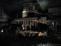 Wieliczka salt mine depth